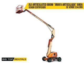ARTICULATED BOOM LIFT 60', Big Top Rentals- Construction Puerto Rico