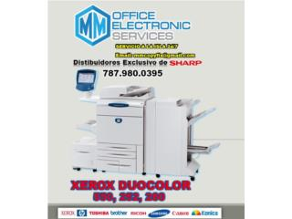 Rent a VENTA DE XEROX DUOCOLOR 550, 252,260 , MM OFFICE ELECTRONIC SERVICES Puerto Rico