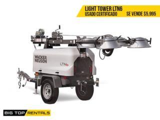 LIGHT TOWER / TORRE DE LUZ , Big Top Rentals- Construction Puerto Rico