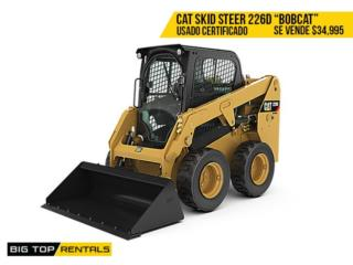 SKID STEER LOADER / BOB CAT, Big Top Rentals- Construction Puerto Rico