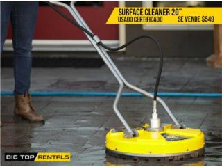 SURFACE CLEANER 20, Big Top Rentals- Construction Puerto Rico