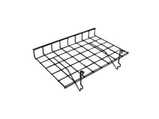 24L x 15D Straight shelve with lip grid y s/w, WSB Supplies U Puerto Rico