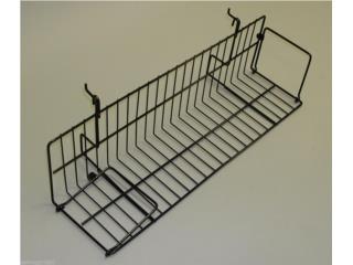 Angle shelf for grid/slatwall 23-1/2 x 6 , WSB Supplies U Puerto Rico