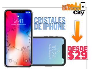 Cristales de iPhone $29, iPhone City Puerto Rico
