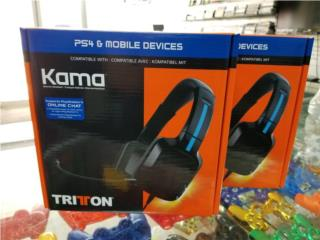 TRITTON Kama PlayStation 4 PS4, PRO Electronics Puerto Rico