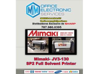 VENTA DE PLOTTERS MIMAKI , MM OFFICE ELECTRONIC SERVICES Puerto Rico