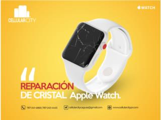 CRISTALES  Y PANTALLAS PARA APPLE WATCH , Cellular City Caguas Puerto Rico
