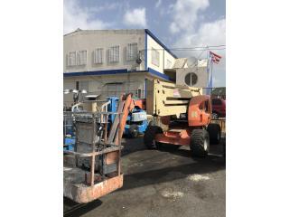 Isabela Puerto Rico Rotulacion, Articulado JLG 450A Ano desde 2004