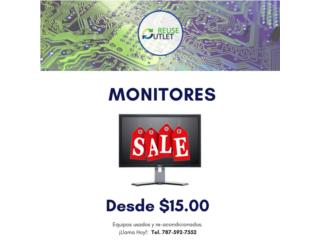 ESPECIAL Monitores LCD, Reuse Outlet Store Puerto Rico