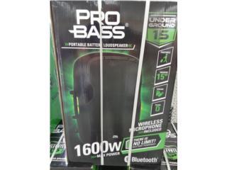 Pro bass 1600 new bluetooth, La Familia Casa de Empeño y Joyería-Ponce 2 Puerto Rico