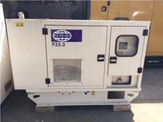 Generador 20 KW Silenciosa garantizado, SOLAR KING Puerto Rico