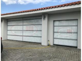 Puerta en Aluminio y Perforada, EURO GARAGE DOORS Puerto Rico