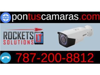 Sistema de Camaras de Seguridad, Rockets I.T Solutions Puerto Rico