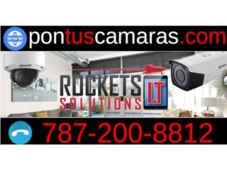 Sistema 2 Camaras de Seguridad instaladas, Rockets I.T Solutions Puerto Rico