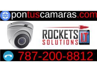 Camaras de seguridad |Sin contrato, Rockets I.T Solutions Puerto Rico