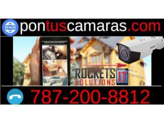 Llámanos y pontuscamaras.com , Rockets I.T Solutions Puerto Rico