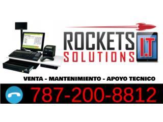 Sistemas POS - Rockets IT Solutions, Rockets I.T Solutions Puerto Rico