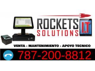 ¿Tú Sistema POS Necesita Mantenimiento?, Rockets I.T Solutions Puerto Rico
