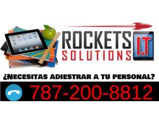 ¿Necesitas adiestrar a tu personal?, Rockets I.T Solutions Puerto Rico