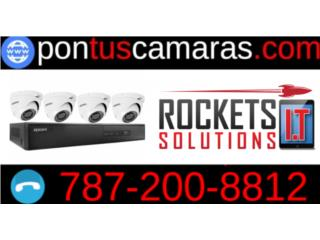 Sistema de 4 Camaras de Seguridad - Kit , Rockets I.T Solutions Puerto Rico