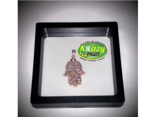 Mano Fatima Rose Gold 14kt 2.5ct Diamond , Krazy Pawn Corp Puerto Rico