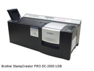 Brother StampCreator PRO SC2000 USB, IMPRENTAS PR Puerto Rico