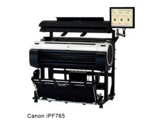 Impresora para planos- Canon iPF765 , IMPRENTAS PR Puerto Rico