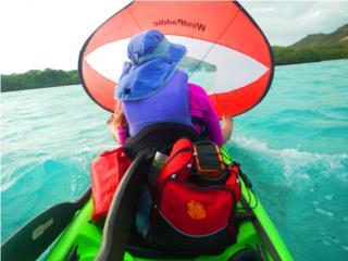 Vela Para Kayaks Dobles Pura Aventura, AquaSportsKayaks Distributors PR 1991 7877826735 Puerto Rico