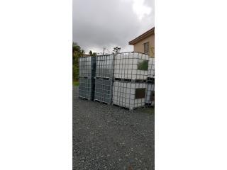 Tanques de agua 275 gln food grade forrados, ANROD NATIONAL EXPORT INC. Puerto Rico