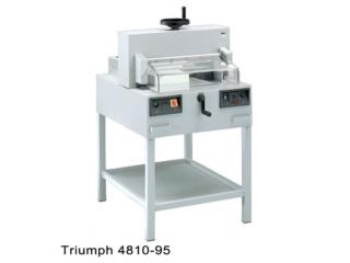 Triumph 4810-95 (Cortadora industrial), IMPRENTAS PR Puerto Rico