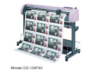 plotter de corte MIMAKI CG-130FXII oferta, IMPRENTAS PR Puerto Rico
