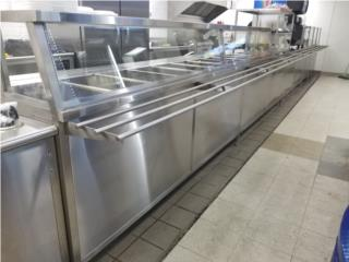 Fabricación de steamtable, Restaurant Equipment and Steel Puerto Rico