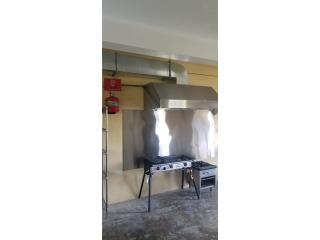 campana 5' inst.con sistema incendio,extracto, Restaurant Equipment and Steel Puerto Rico