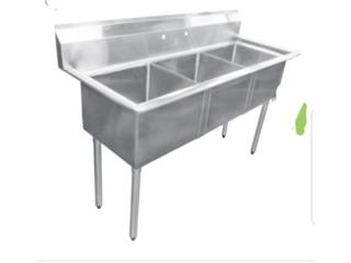 Fregaderos 36,48,54,72 los tengo disp, Restaurant Equipment and Steel Puerto Rico