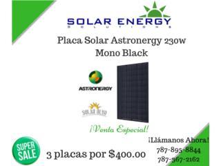 Placa solar Astronergy Mono 230 watts, Solar Energy Solutions LLC Puerto Rico