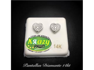 Pantallas Diamante 14kt , Krazy Pawn Corp Puerto Rico