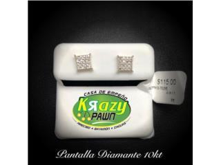 Pantalla Diamante 10kt, Krazy Pawn Corp Puerto Rico