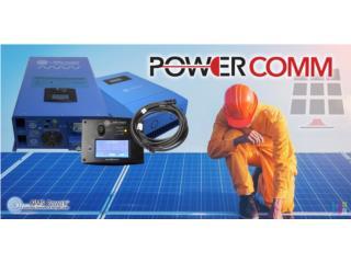 Sistema de Batería automático sin humo ruido , PowerComm, Inc 7878983434 Puerto Rico
