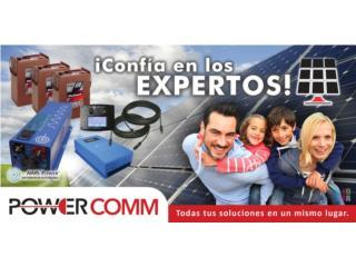 Planta Solar proteja su inversion, PowerComm, Inc 7873900191 Puerto Rico