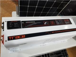 Inversor onda pura Trace 6048 110/220V, MAXIMO SOLAR INDUSTRIES Puerto Rico
