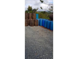 Envases o Drones plasticos 55 gln, ANROD NATIONAL EXPORT INC. Puerto Rico