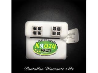 Pantalla Diamantes 1.44ct 14kt $550, Krazy Pawn Corp Puerto Rico