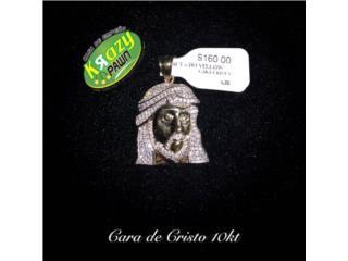 Pendant Cara De Cristo 10kt $160, Krazy Pawn Corp Puerto Rico