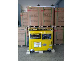 Planta Eléctrica 7k Diesel  EPA cert. /  , SOLAR KING Puerto Rico