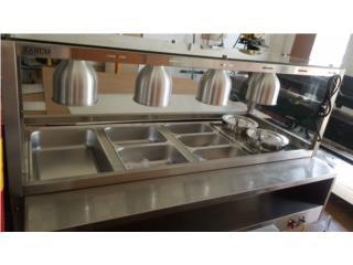 Steam Table de TODOS los Tamaños, Professional Kitchen Equipment Puerto Rico