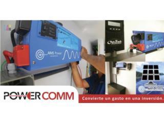 Inversores, Baterías, Controladores  y Placas, PowerComm, Inc 7873900191 Puerto Rico