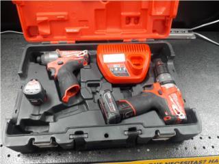 milwaukee combo set drill impact y drill m12 , La Familia Casa de Empeño y Joyería, Ave Barbosa Puerto Rico