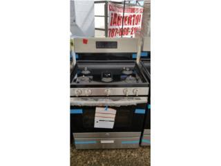 Estufa 5 quemad con DAMAGE $495.00 con garant, COLON DISTRIBUTORS PR, INC. Puerto Rico