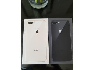 IPhone 8 Plus 64GB Unlock con R-sim , Cellphone's To Go Puerto Rico