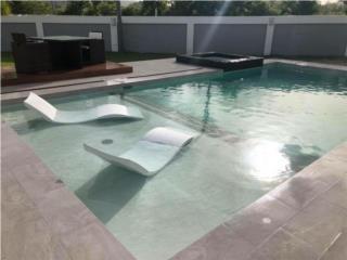 Piscina con sun deck 15'x30', GO POOL & SPA Puerto Rico